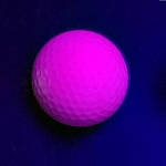 Black Light Pink Ball