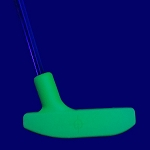 Black Light Green Urethane Putter