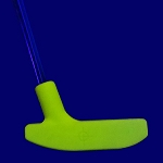 Black Light Yellow Urethane Putter