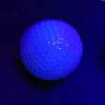 Black Light Blue Ball